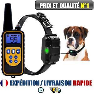 Collar-anti-bark-training-dog-electrique-controle-remote-800-m