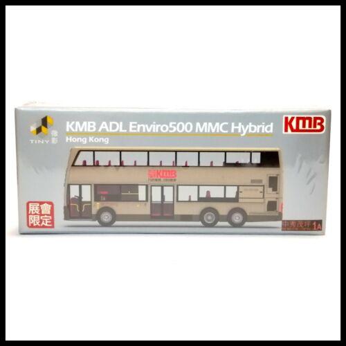 TINY LIMITED EDITION KMB ADL Enviro 500 MMC Hybrid 1A Bus DIECAST CAR CITY