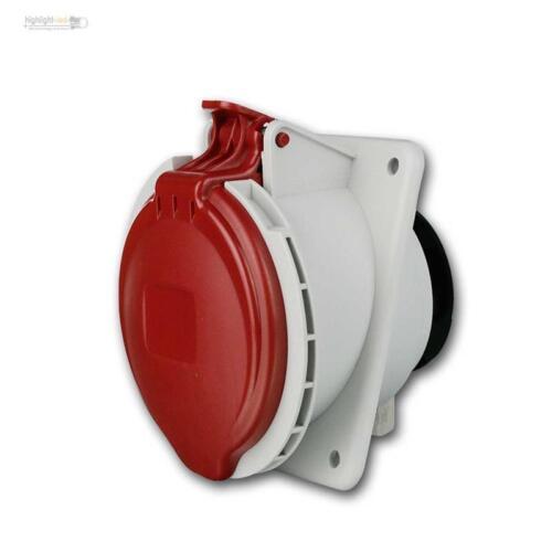 CEE-instalación enchufe ip44, 32a rojo, EEC enchufe, 5 polos 400v fuerza lata de electricidad