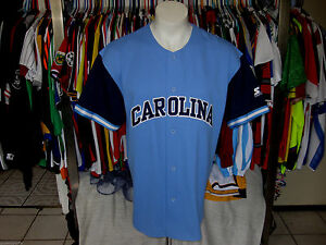 04a9c8255 L vtg STARTER NORTH CAROLINA JERSEY BASEBALL SHIRT PANTHERS USA UNC ...