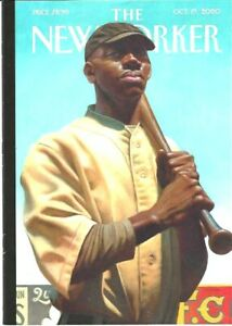New Yorker magazine October 19 2020 - Kadir Nelson - Centennial, Roddy Doyle