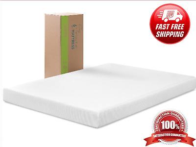 6 Inch Memory Foam Mattress Queen Size, Queen Size Bed In A Box
