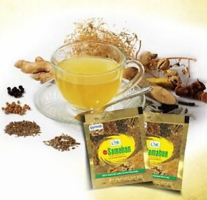 Link-SAMAHAN-Ayurveda-natural-REMEDY-herbal-drink-100-sachets-for-Cough-amp-Cold