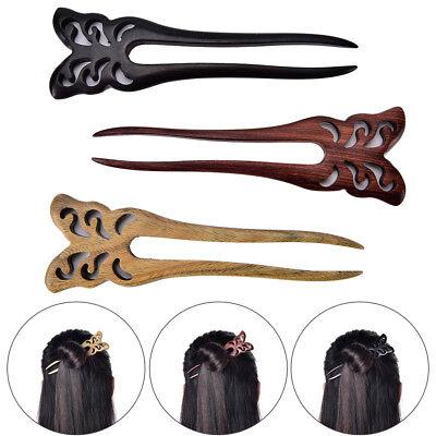 Wooden Hair Stick Sandalwood Jade Rabbit Hair Stick Hairpin Hair Accessory