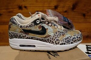 super popular 3e7ae 0eef7 Image is loading Nike-WMNS-Air-Max-1-PRM-Atmos-Desert-