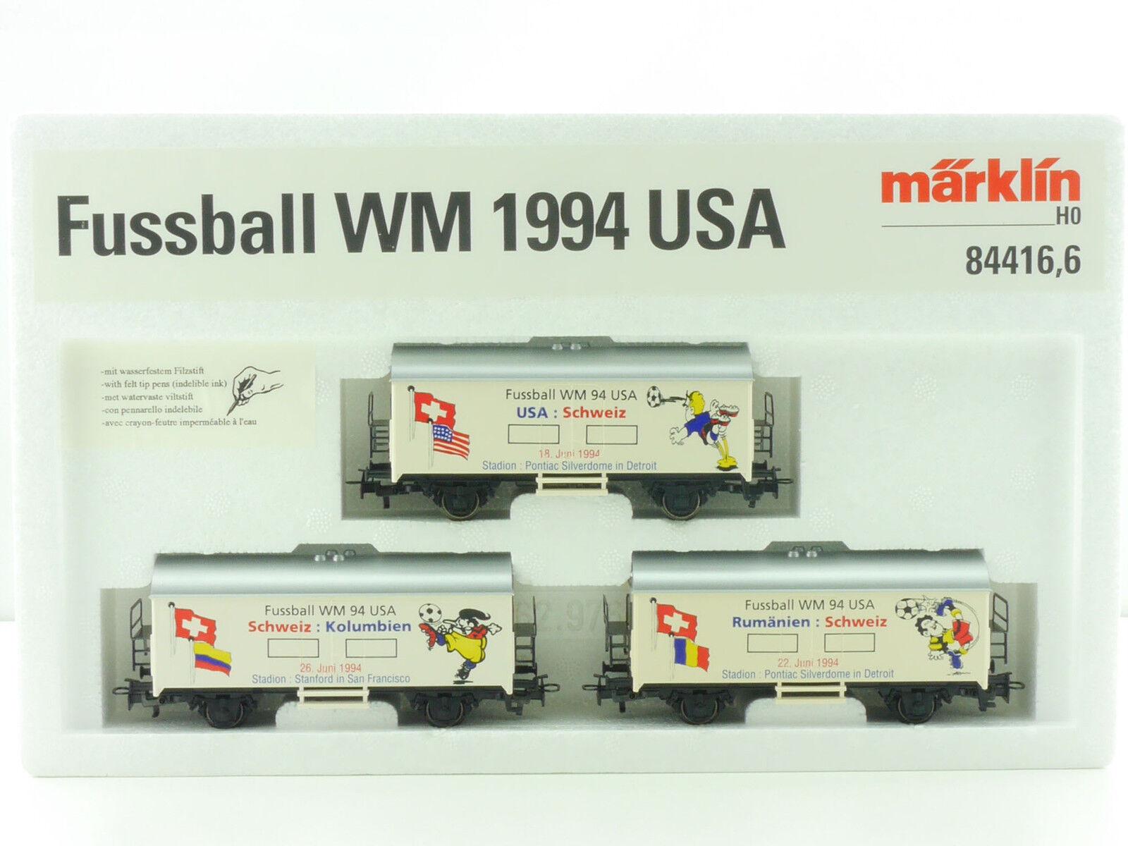 Marklin 84416,6 carri-Set scelta, Mondiali calcio 1994 USA RARO NUOVO OVP AW 1107-04-777