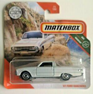 Matchbox Hot Wheels 2018 '61 Ford Ranchero !! Neu !!!