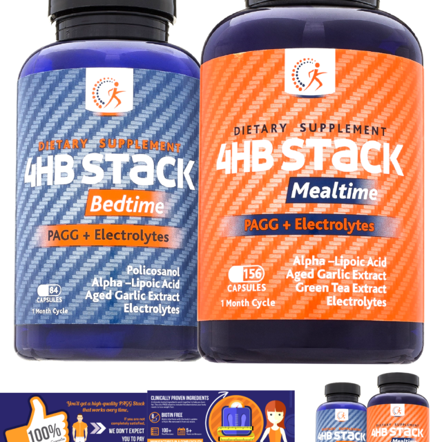 Premium PAGG Stack by Kirkland Science Labs - PAGG + Electrolytes - For Slow ...
