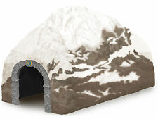 LIONEL 6-37837 POLAR EXPRESS LOGO STRAIGHT SNOW TUNNEL O GAUGE TRAIN NORTH POLE