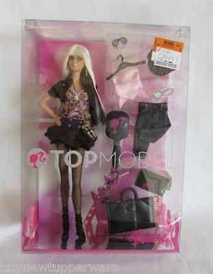 2007 Top Model Runway Barbie Doll NRFB #M2977 Model Muse Blonde Brand New