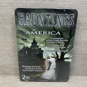 Hauntings-in-America-New-Sealed-2-Disc-DVD-Set-In-Collectors-Tin-Free-Shipping