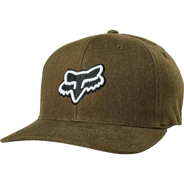 Fox Racing Mens Muffler Flexfit Hat Brown