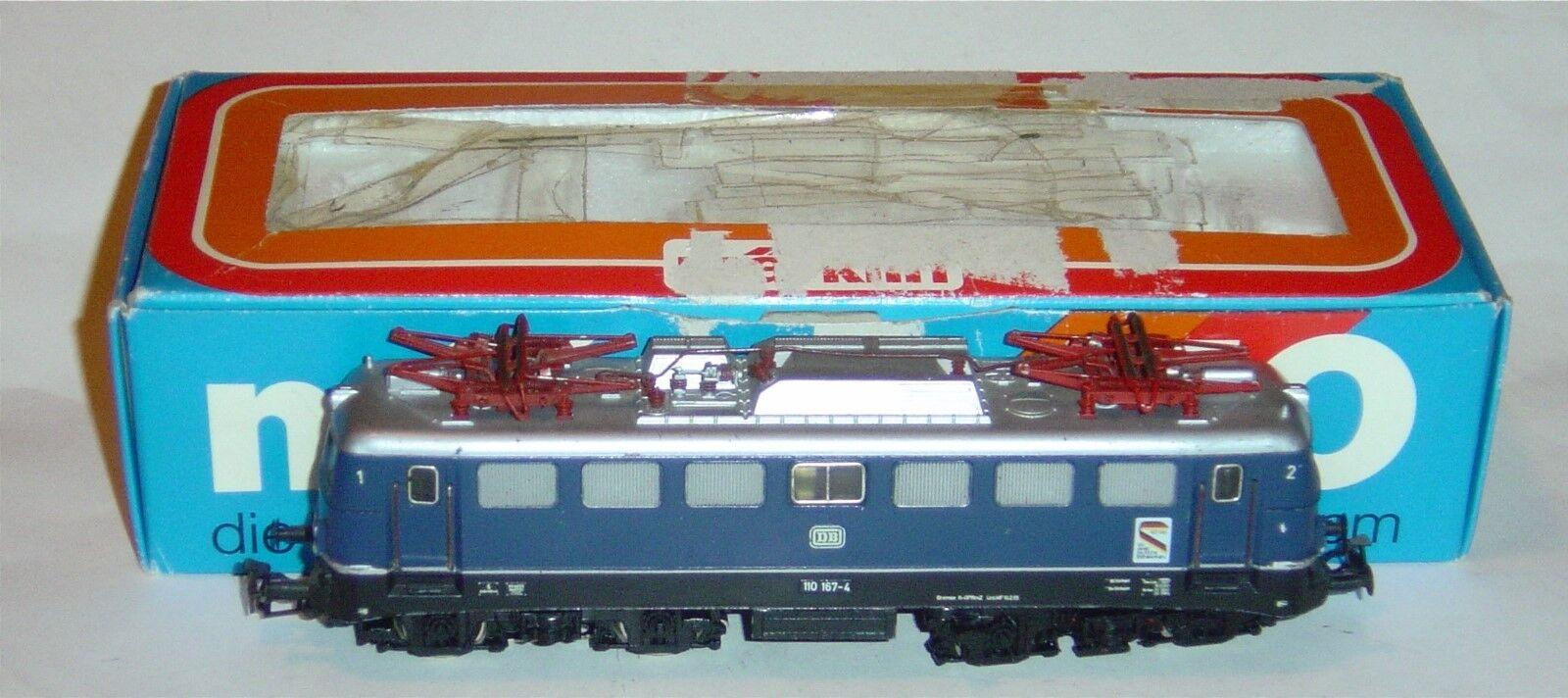 Marklin ho, e110 electric locomotive 167-4 DB ref 3039, optional digital