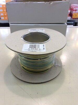 De 6 mm Verde Y Amarillo Tierra Cable Por Metro 6.0 mm