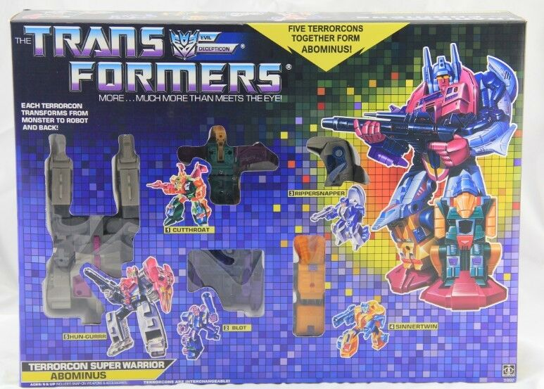 Transformers G1 Abominus brand new Gift