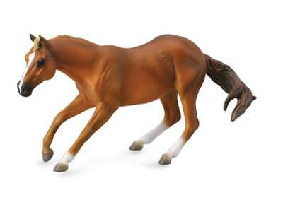 Toys & Hobbies Brave Quarter Horse Sorrel 16 Cm Pferdewelt Collecta 88585
