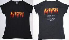 Autopsy - Logo Festival 2010 - Girlie Girl Womens Shirt - Größe Size M - Neu