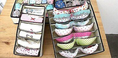 NEW Multi Underwear Closet Organizers Dividers Storage Boxes