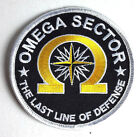 """True Lies Movie Omega Sector 3.5"""" Embroidered Logo Patch- FREE S&H (TLPA-01)"""