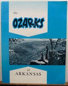 Details about 1960's Ozarks of Arkansas vintage travel brochure booklet map  b