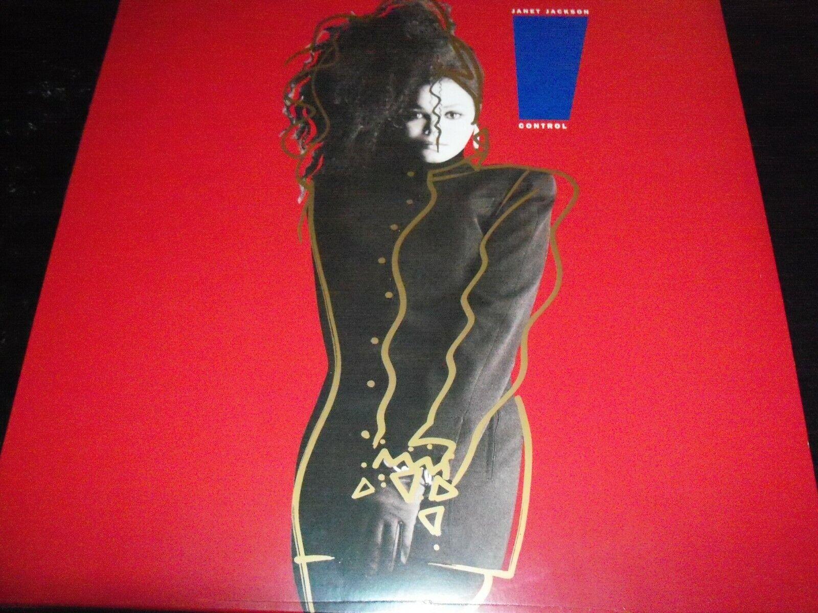 Janet Jackson – control limitado Rojo Vinilo Lp-Nuevo