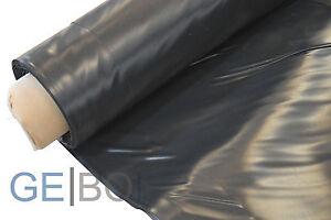 teichfolie schwarz 0 5mm rollenbreite 6 m breite lfdm bis 9m am st ck m glich ebay. Black Bedroom Furniture Sets. Home Design Ideas