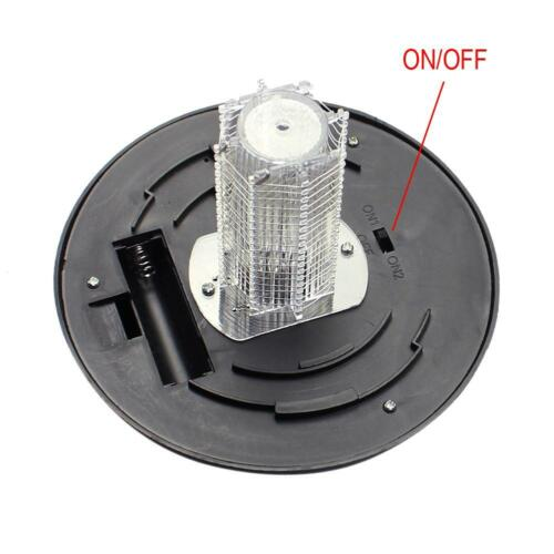 Solar Powered LED Light Pest Bug Zapper Insect Mosquito Killer Lamp Garden Lawn