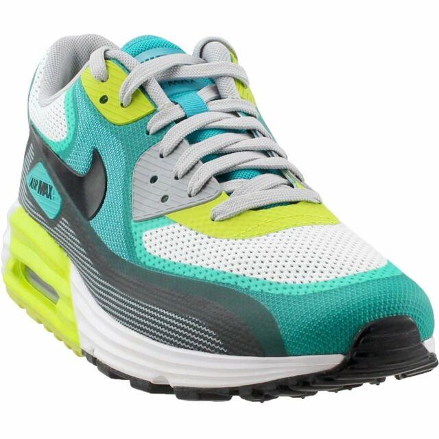 e714561b7faf Nike Air Max Lunar90 C3.0 White Black Green Mens Running Shoes 90 ...