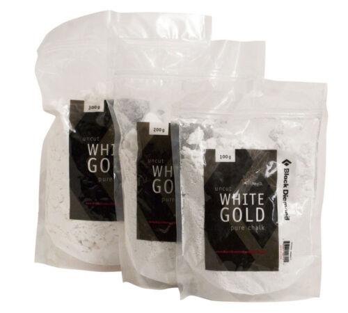 Black Diamond Chalk 200 g Loose Chalk White Gold Klettern Bergsport