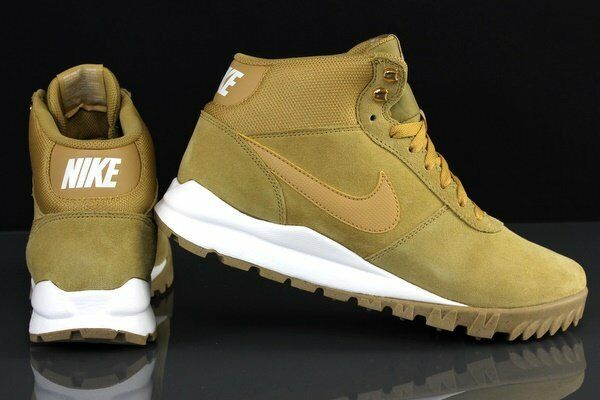 MEN'S NIKE HOODLAND SUEDE 654888 - 727 (HAYSTACK) SIZE 9 NEW IN BOX