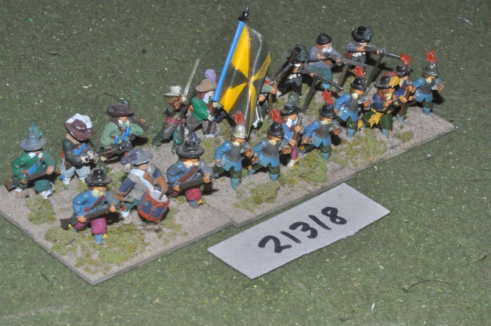 25mm ECW   english - civil war infantry - inf (21318)