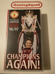 Manchester-United-Review-1996-97-Champions-Again-VHS-Supplied-by-Gaming-Squad