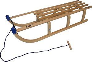 Schlitten-Holz-Colint-110-cm-Davos-Premium-Holzschlitten-Winter-Rodel-bis-180-kg