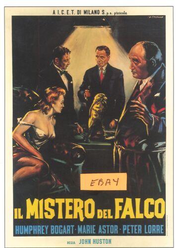 UNIQUE AT     ONLY $6.99 TWO STEFANO 2 MALTESE  FALCON POSTER- ITALIAN