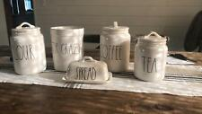 NEW LL CANISTERS ADDED: Rae Dunn Canisters: All Sizes!