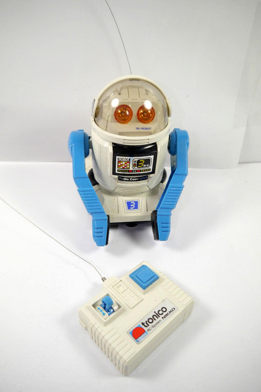 Tronico Robby-Robot Robot con Radiocouomodo Nikko con Conf. Orig. (F24)   vendita di offerte