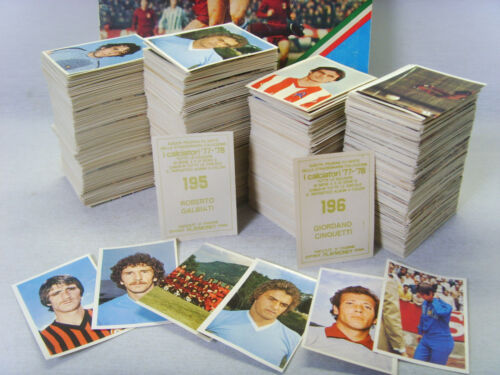 PLAYMONEY I CALCIATORI 77-78 NEW Figurina n.386