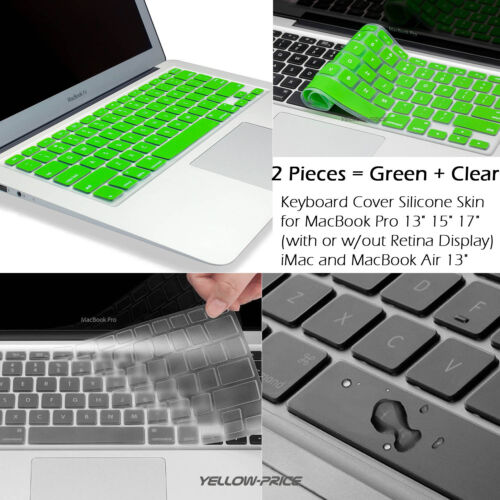 """For Macbook Pro Retina Air 13/"""" 15/"""" 17/"""" High Quality Soft Keyboard Skin Cover"""