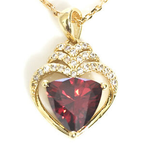 Red-Ruby-Heart-Diamond-Halo-Pendant-Necklace-14K-Yellow-Gold-Plated-18-034