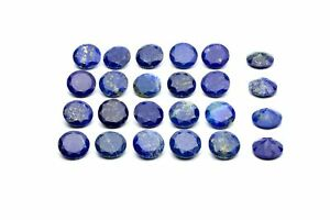 Round-Lapis-Lazuli-Gemstone-Semiprecious-Natural-Loose-AA-Wholesale-DIY-Jewelry