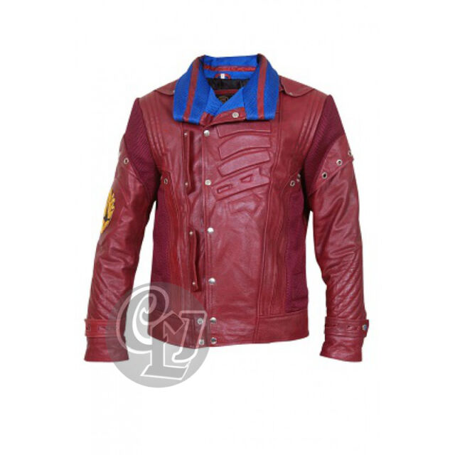 New Star Lord Guardians of the Galaxy Men's Leather Jacket - BNWT