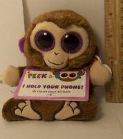 Ty Beanie Boo Peek-a-boos Chimps The Monkey Smartphone Holder Screen Cleaner