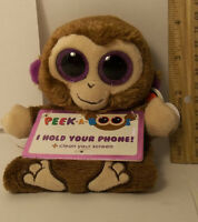 Ty Beanie Boo Peek-a-boos Chimps The Monkey Smartphone Holder Screen Cleaner