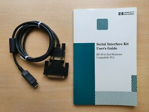 Hewlett-Packard-HP-Serial-Interface-Data-Transfer-Cable-to-DOS-Windows-PC-662