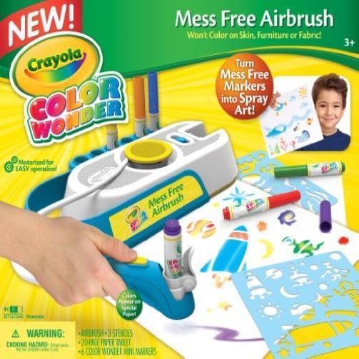 Crayola Cw Mess Free Airbrush New