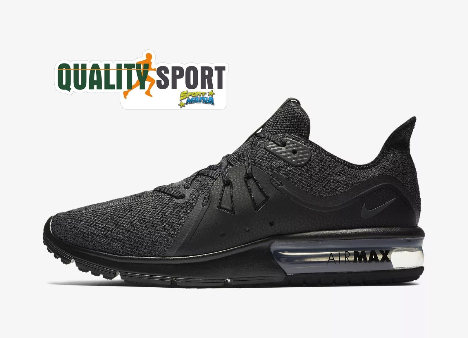 Nike Air Max Sequent 3 black shoes shoes men Sportive Sneakers 921694 010