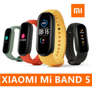 Xiaomi Mi Band 5 4 Heart Rate Fitness Tracker 50M Waterproof Wristband Global US