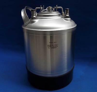 9 Liter Edelstahl Fass NC Soda KEG Ball Lock Container mit Entlüftungsventil -