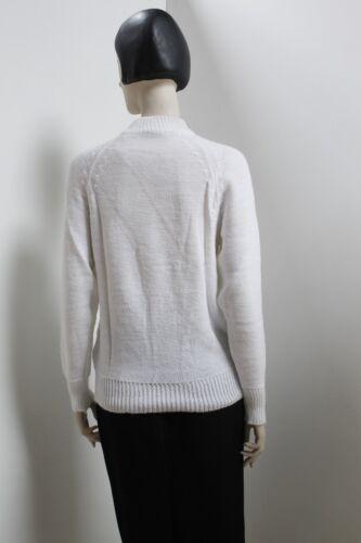 anni True ovato Mai '70 Maglione Swaeter Bianco anni invernale '70 Vintage Maglione wqf1IRf