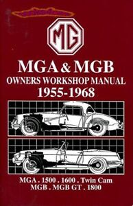 mga mgb shop manual service repair book mg workshop owners guide gt rh ebay ie Tranmission Shop Manuals For 1964 Ford Shop Manual Diagrams